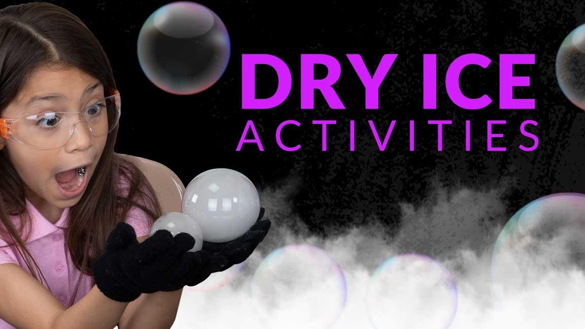 Halloween Dry Ice Activities