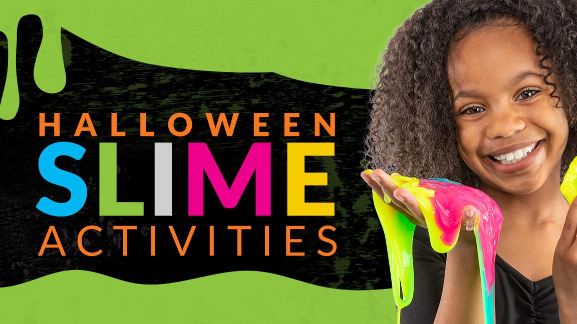 Halloween Slime Activities