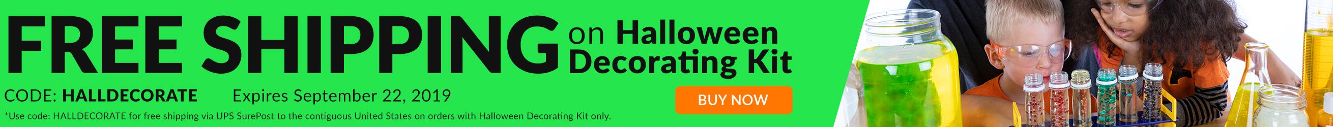 Free Shipping on Halloween Decorating Kit