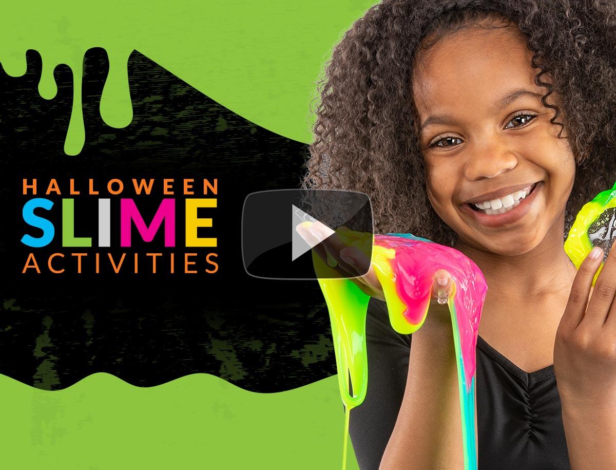 Halloween Slime Activites