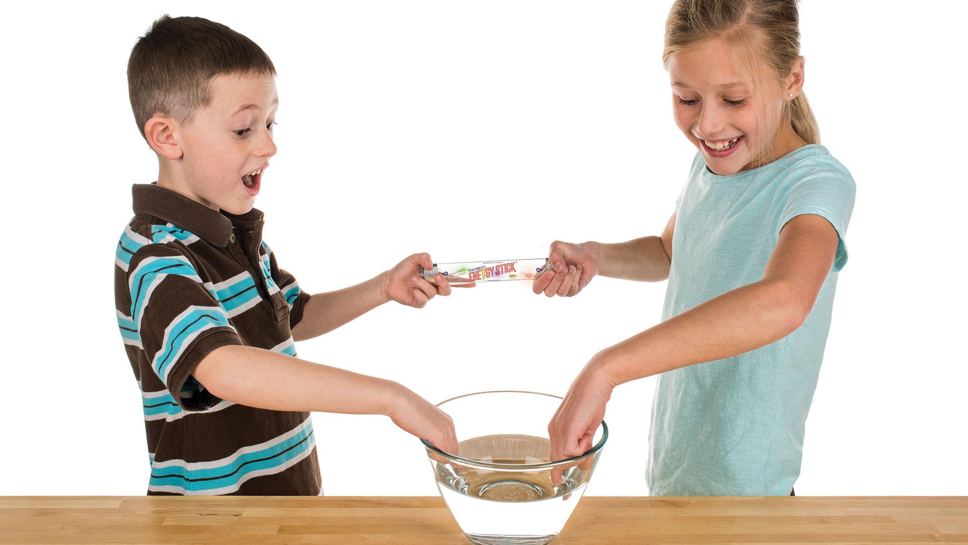 Energy Stick Sensor Stick Kids Toys Human Conductivity Energy Stick Sci-Fi Tube
