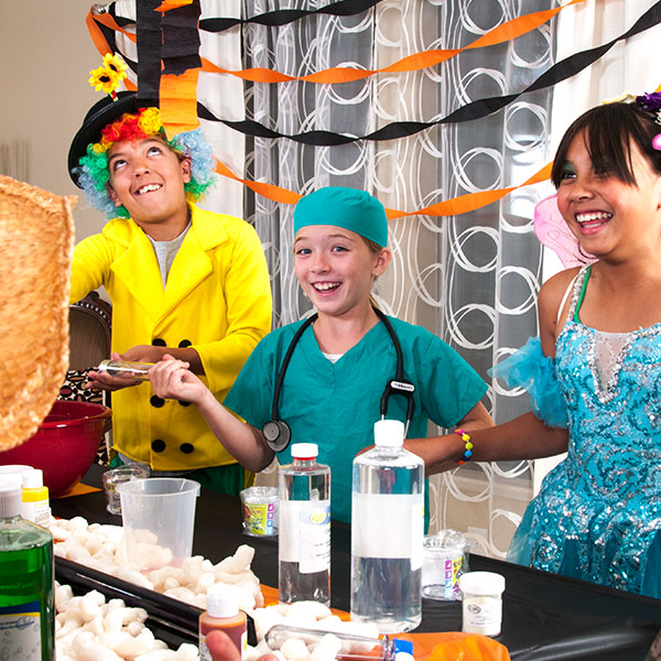 Halloween Science Party
