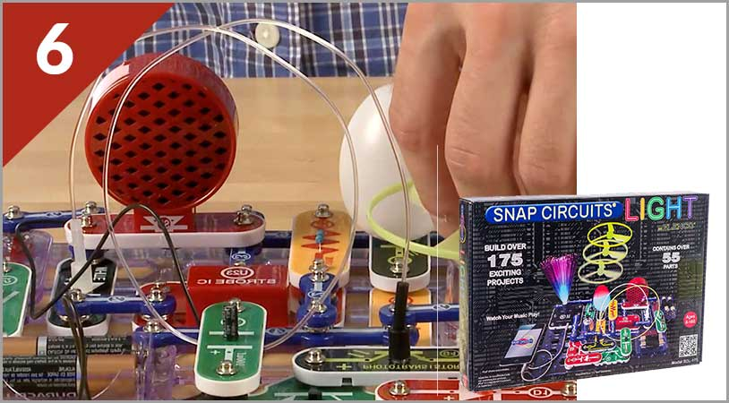 Top 10 - Snap Circuits Light