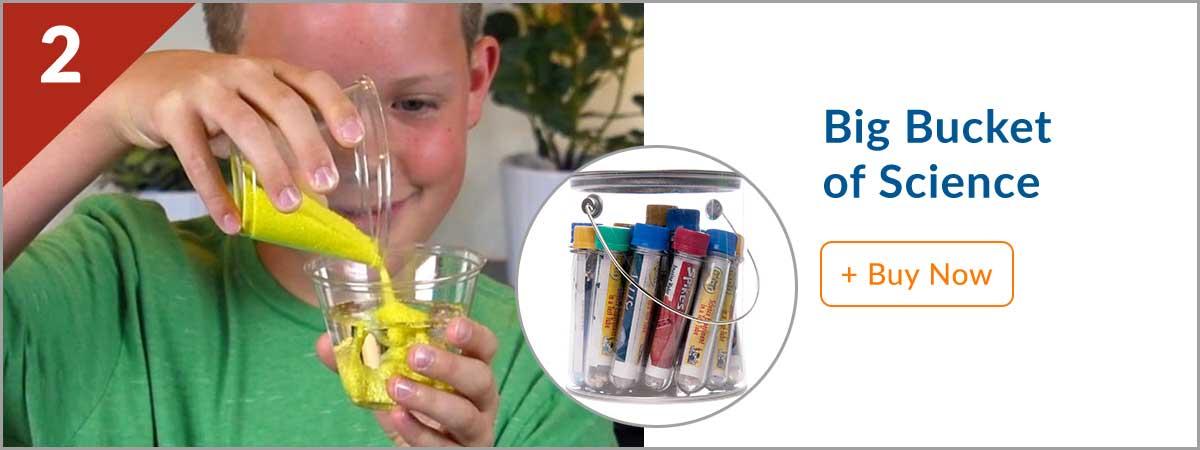 Steves Top 10 Product - (2) Big Bucket of Science