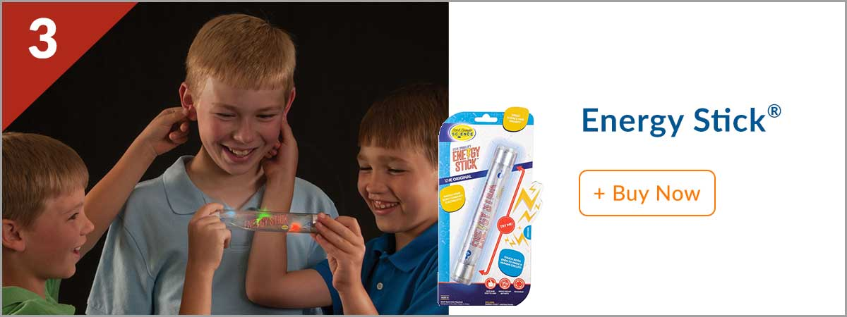 Steves Top 10 Product - (3) Energy Stick
