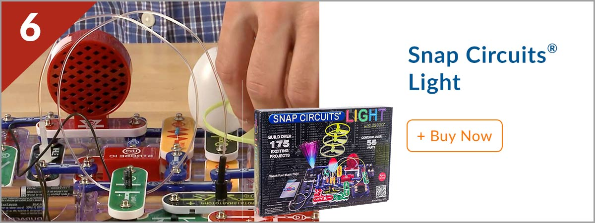 Steves Top 10 Product - (6) Snap Circuits Light