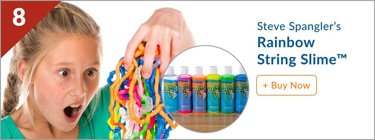 Steves Top 10 Product - (8) Rainbow String Slime