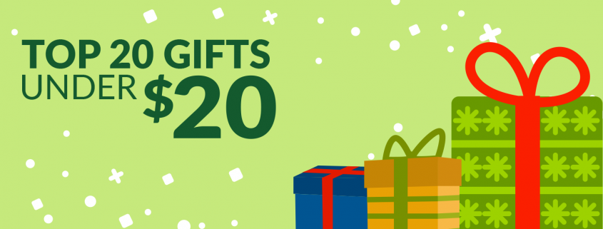 Top 20 Gifts Under $20