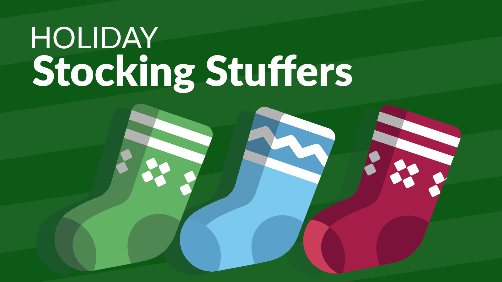 Holiday Stocking Stuffers