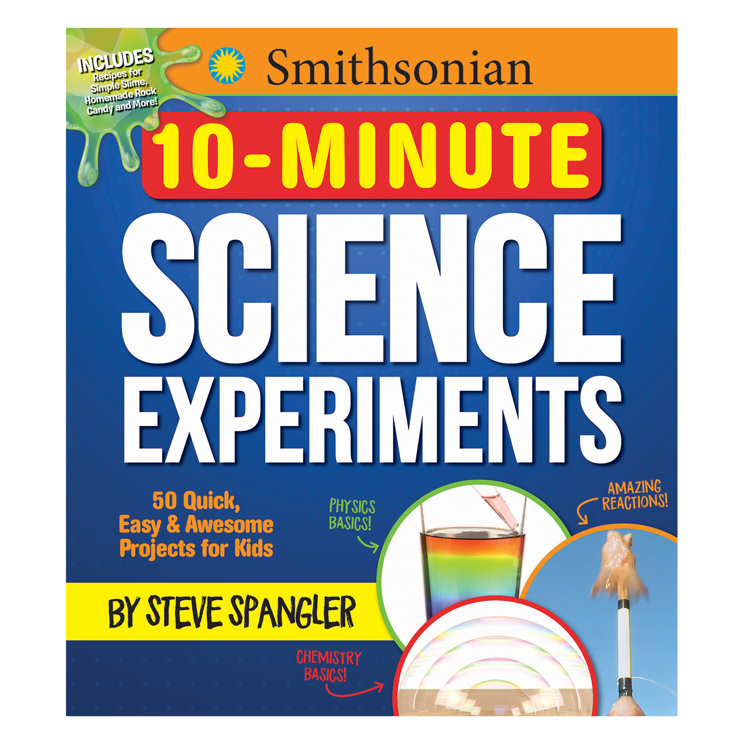 10 Minute Science Experiments