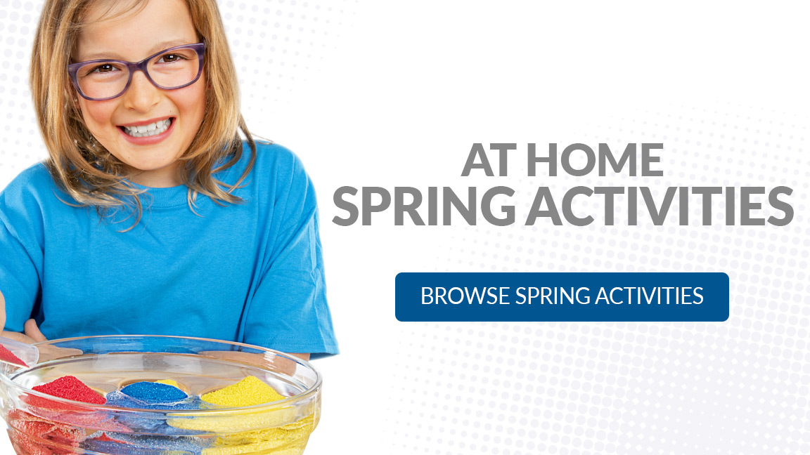 At Home Science - Spring Activities