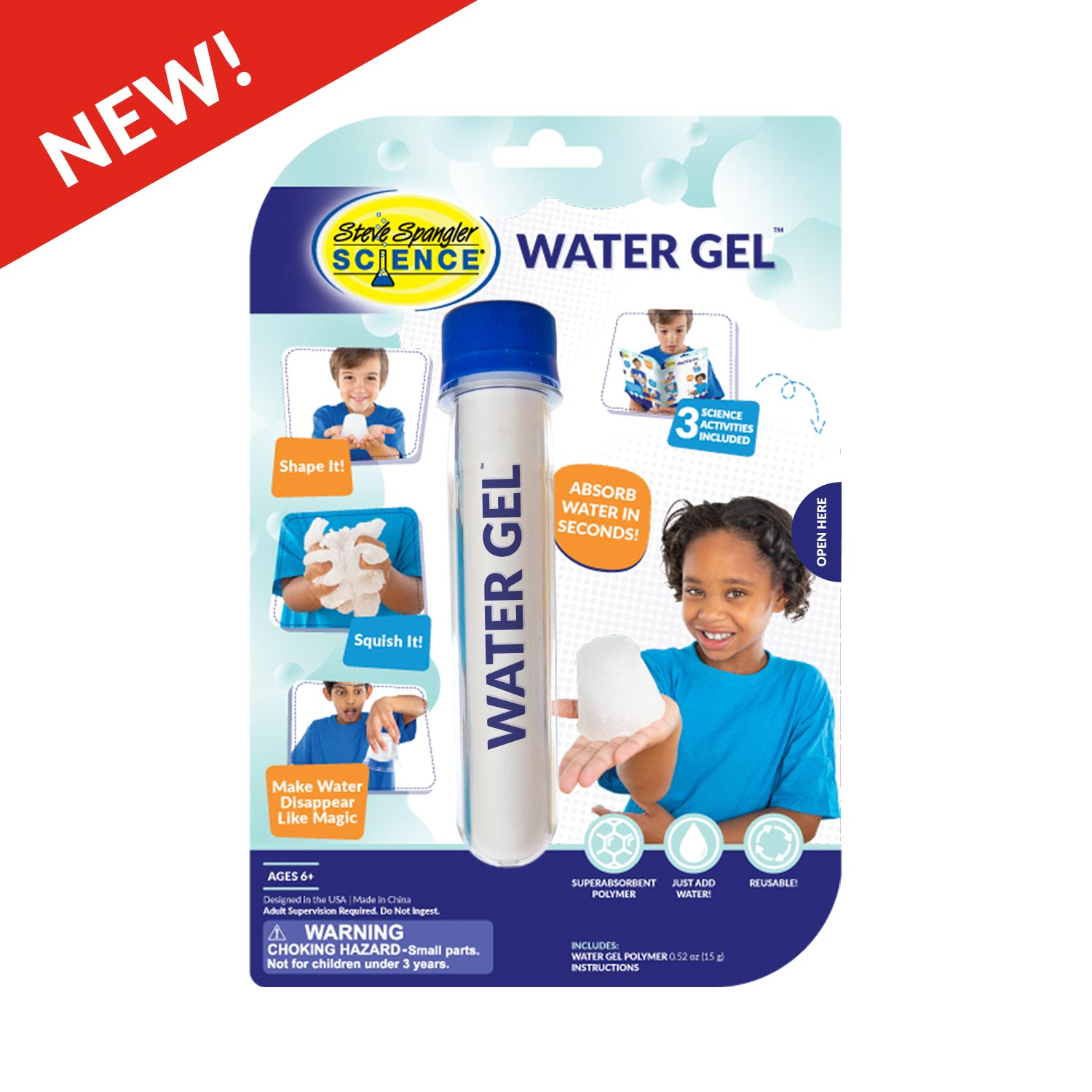 Water Gel Test Tube