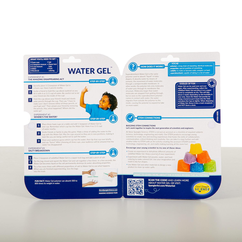 Water Gel Test Tube