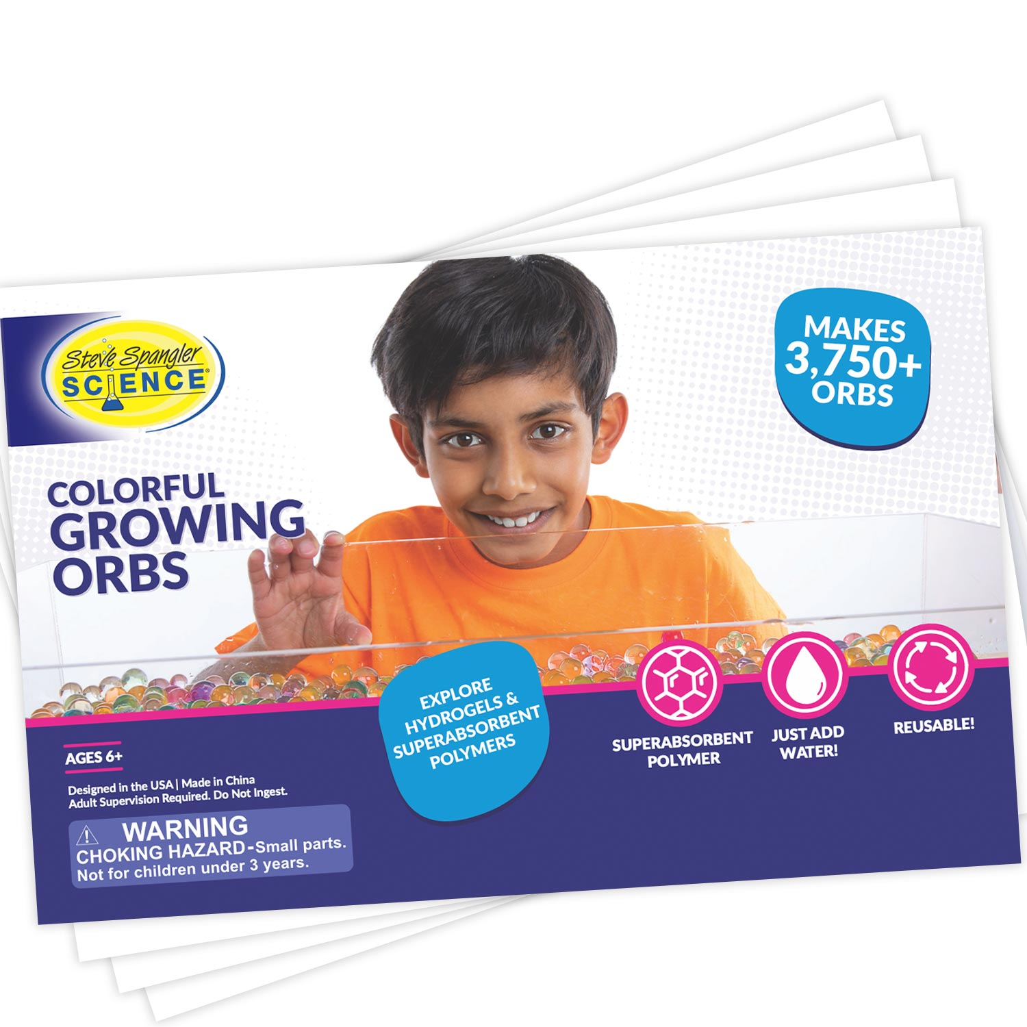 Colorful Growing Orbs Starter Set