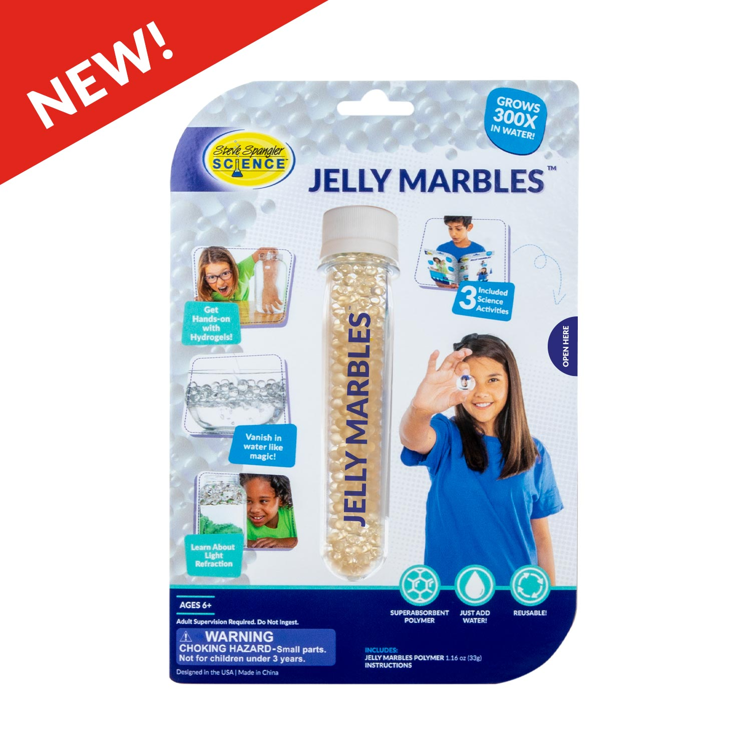 Jelly Marbles Test Tube