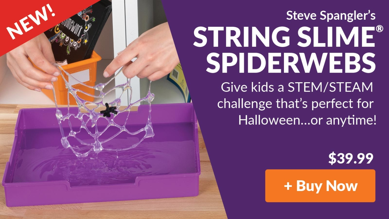 String Slime Spiderwebs