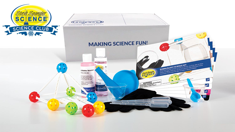 STEM Science Kit - Bubblology Science Kit